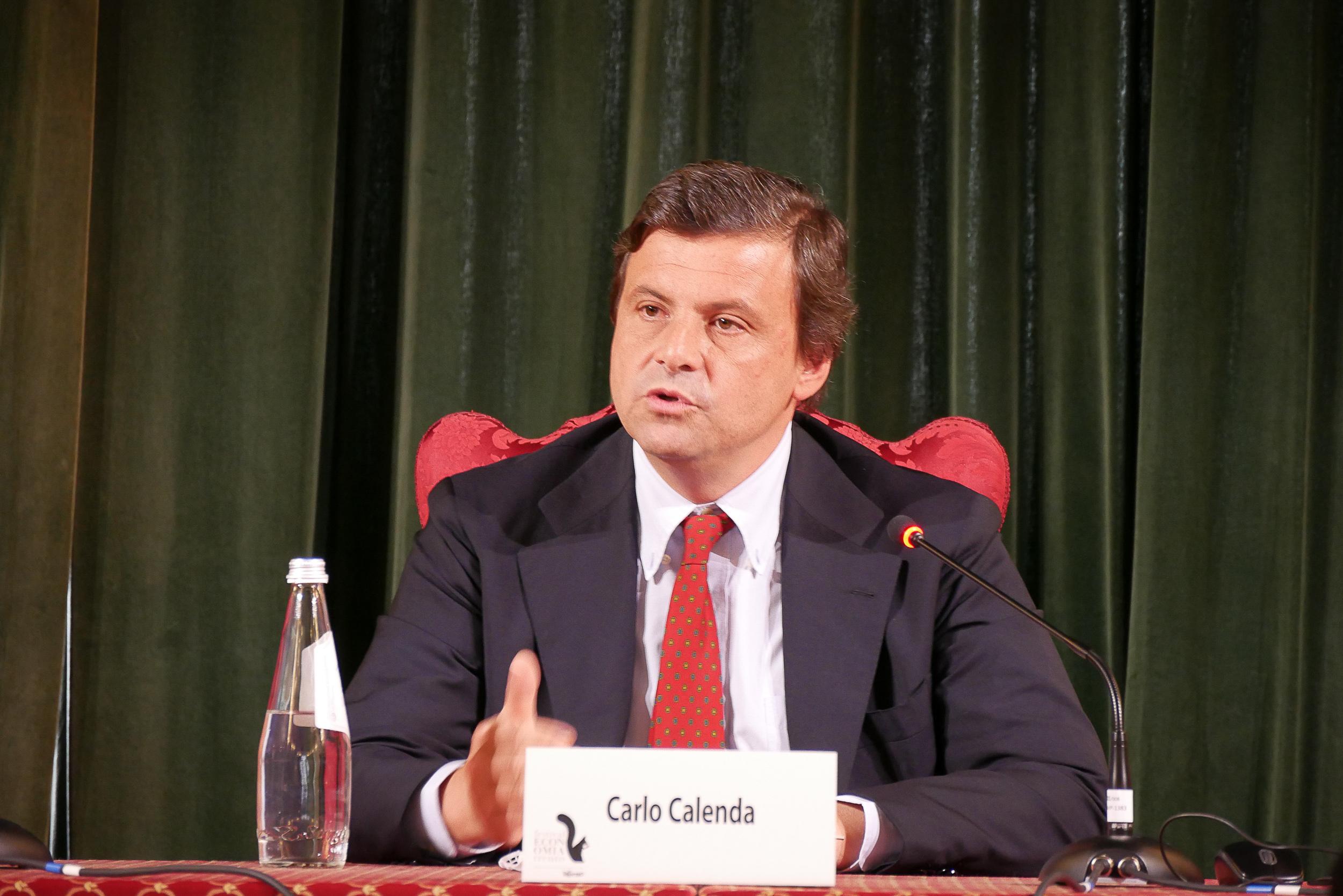 Minister Carlo Calenda recipe to re-launch Italian economy
