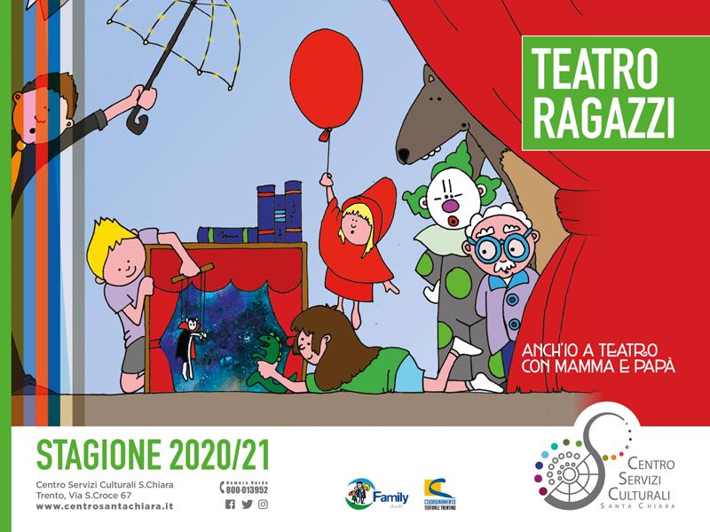Al via la stagione di Teatro ragazzi 2020/2021