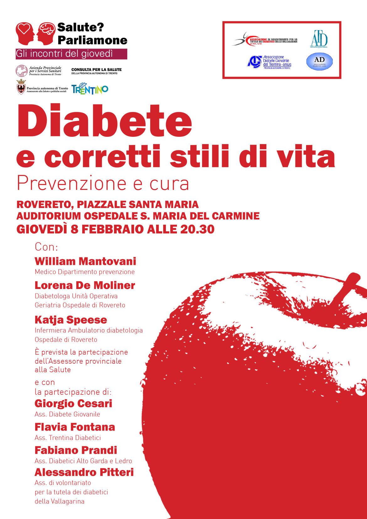 Servizio di incontri per diabetici