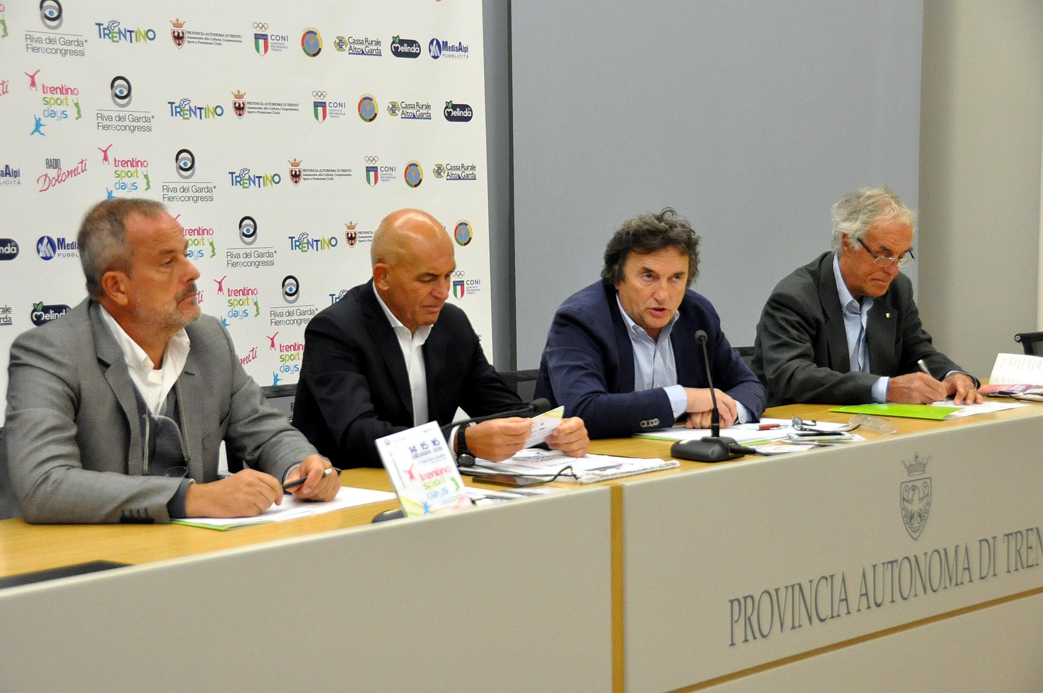Ufficio Lavoro Riva Del Garda : Trentino sport days 2016: lo sport da conoscere da provare e da