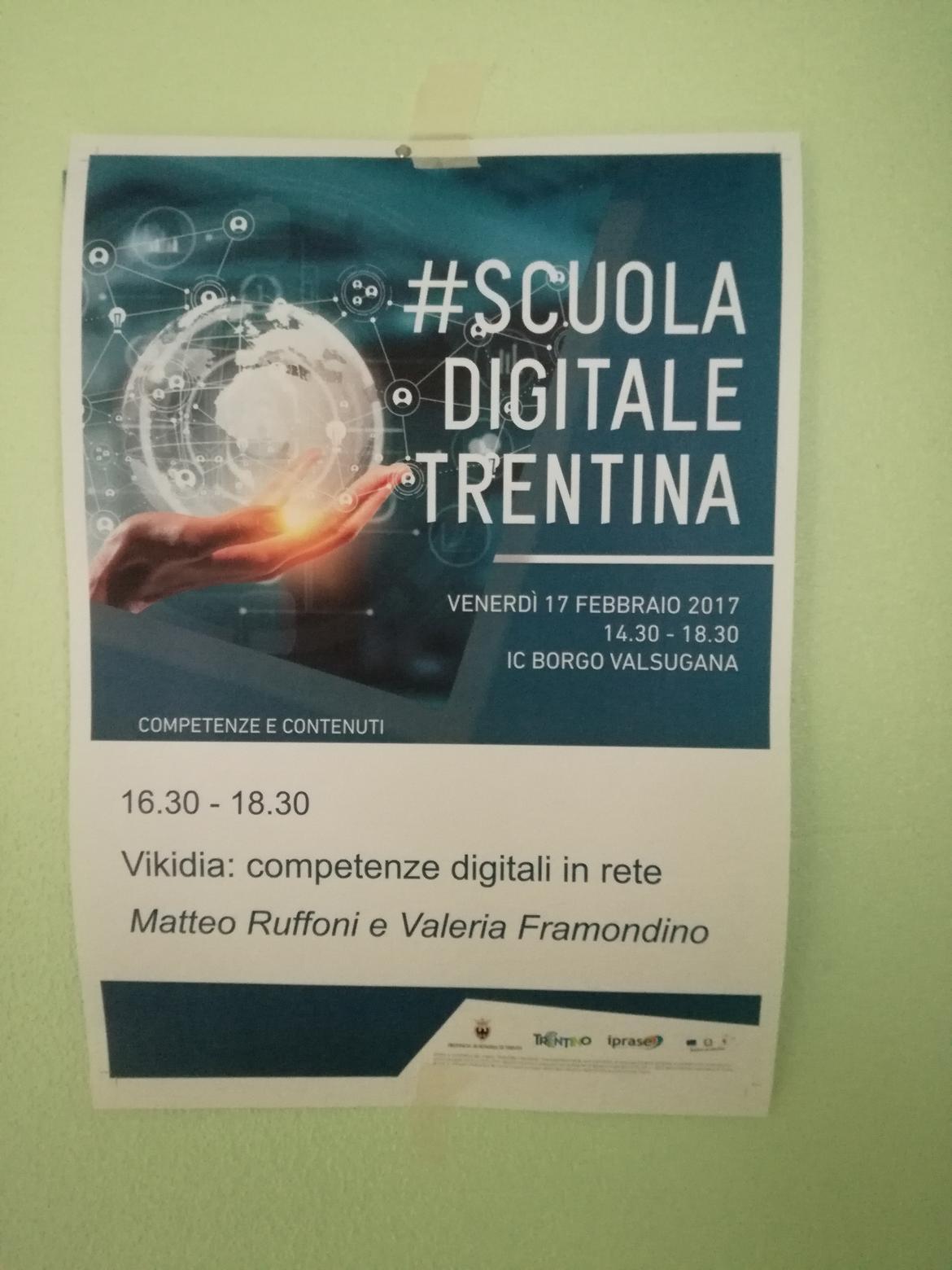 """Scuola Digitale Trentina """" Petenze E Contenuti"""" Al Secondo Incontro"""