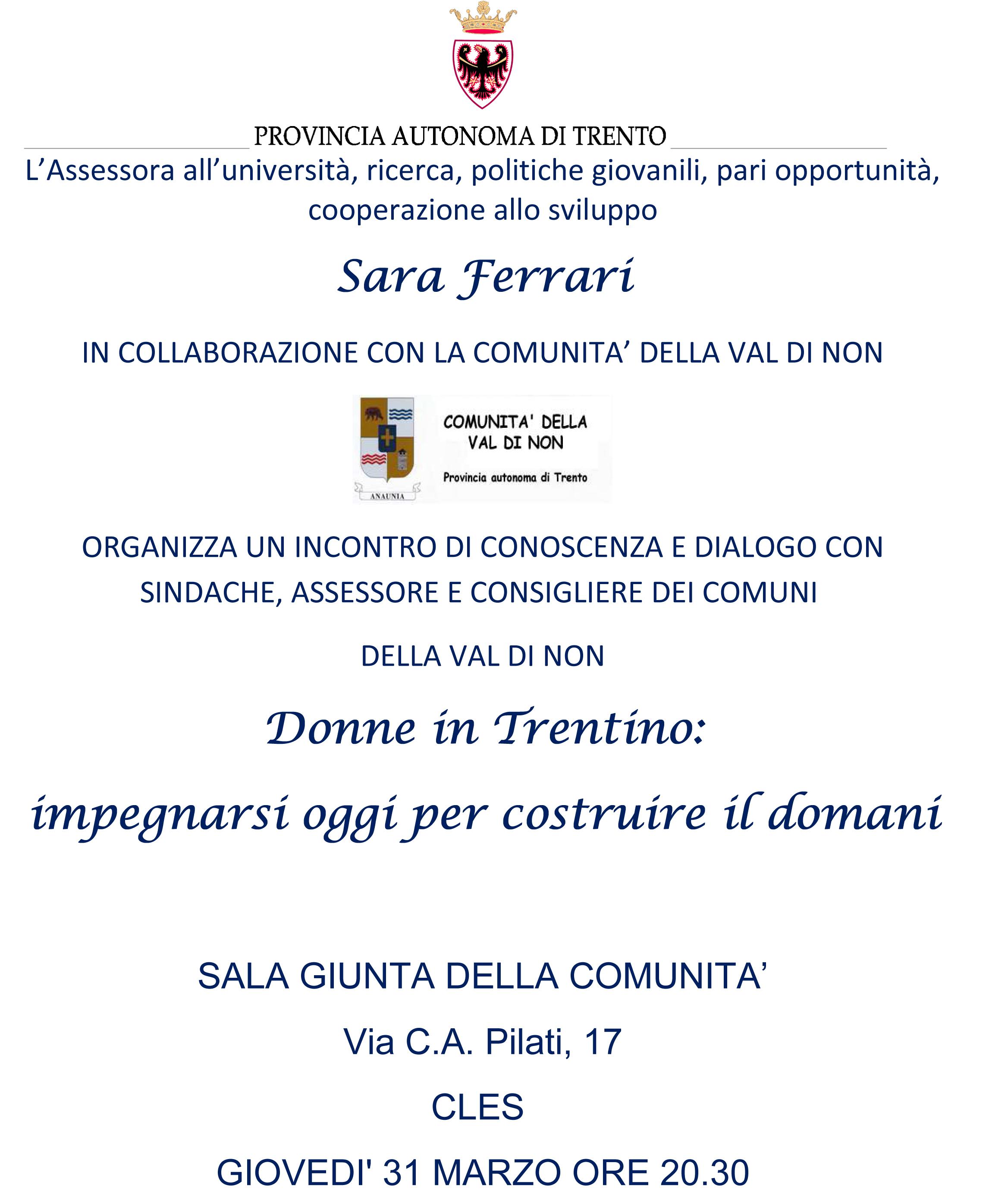 Donne A Trento