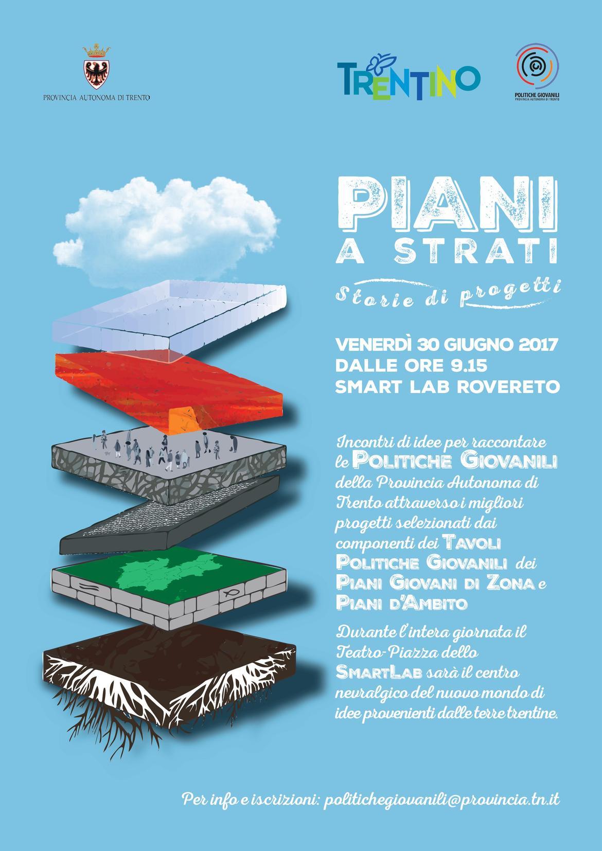 I migliori progetti di politiche giovanili in trentino al for Piani di costruzione di storage rv