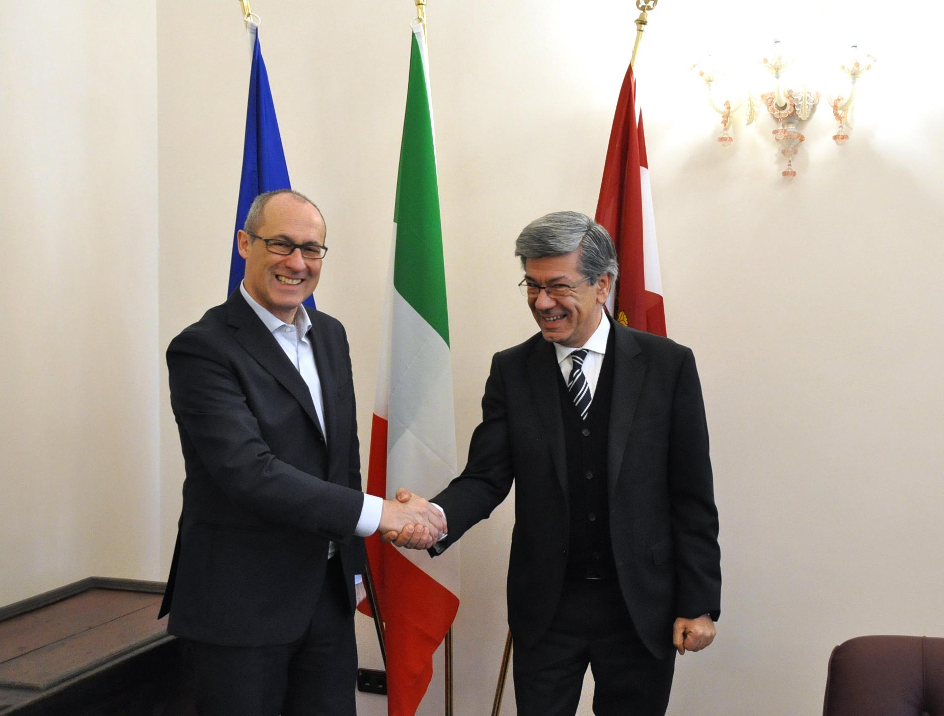 Il nuovo direttore della filiale della Banca d'Italia ...
