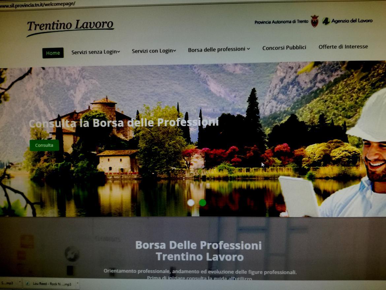 Trentino Lavoro Gia 586 000 Gli Accessi Al Portale